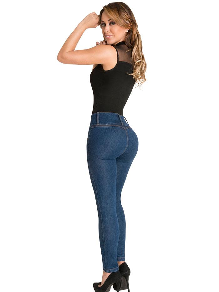 Butt Lifter Skinny Jeans 02